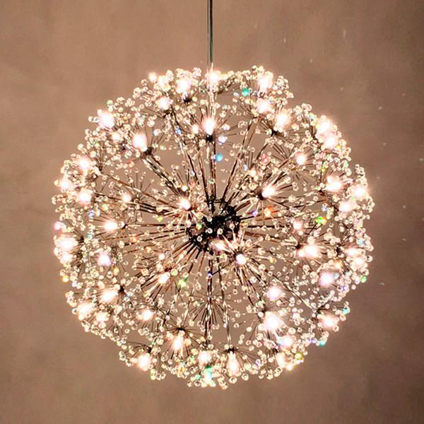 Кухня подвесные светильники подвесные светильники светодиодные Кристалл подвес