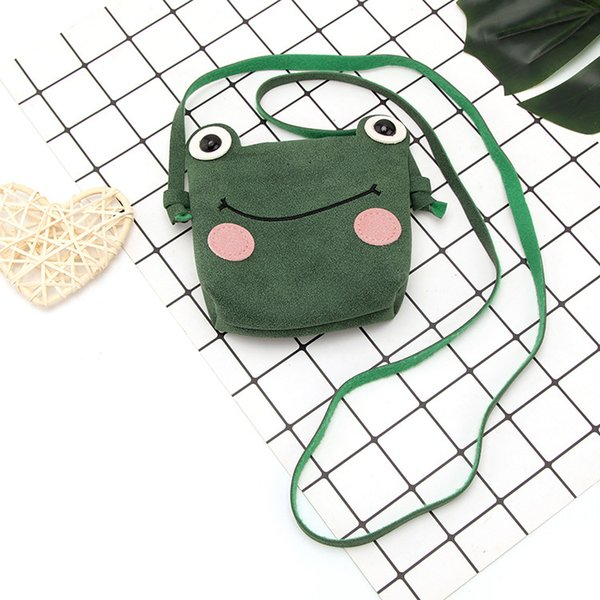 raged sheep baby coin bags purse frog multichoice popular fashion mini kids cartoon lovely messenger bag little girl's present (425643317) photo