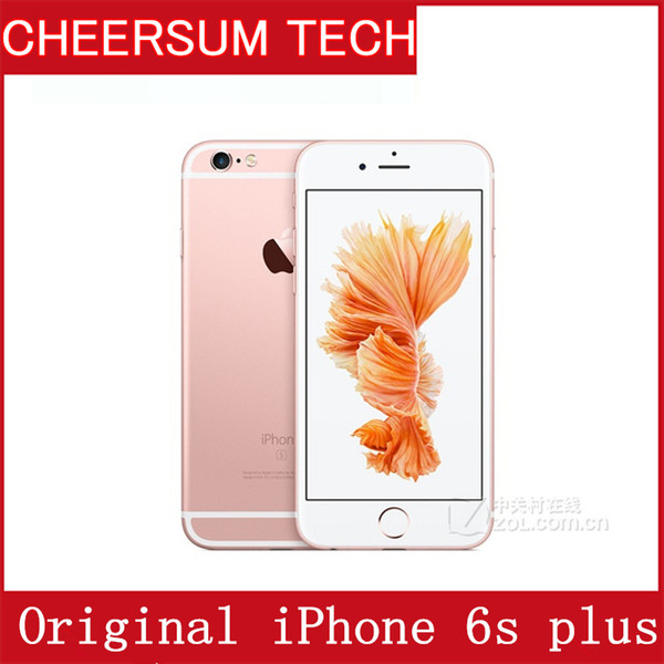 Original refurbi hed apple iphone 6 plu without touch id io 9 dual core 2gb ram 16gb 64gb 128gb rom 12mp camera cell phone