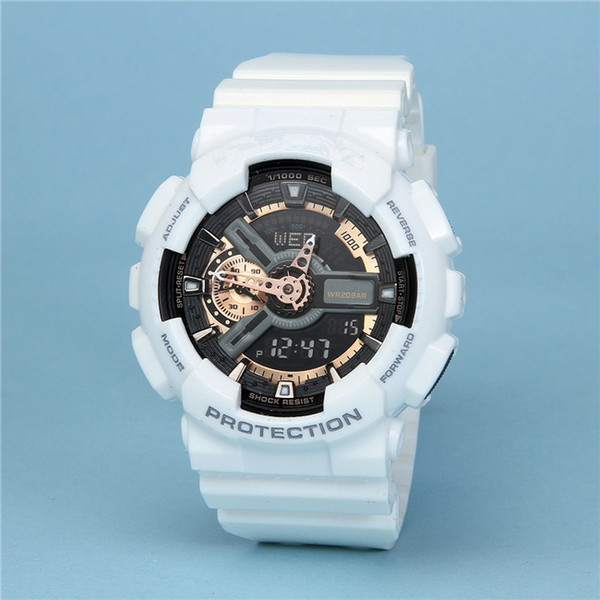 AAA + качество мужские G роскошные спортивные часы g110 восхождение светодиодные часы 110 водонепроницаемый шок авто свет наручные часы