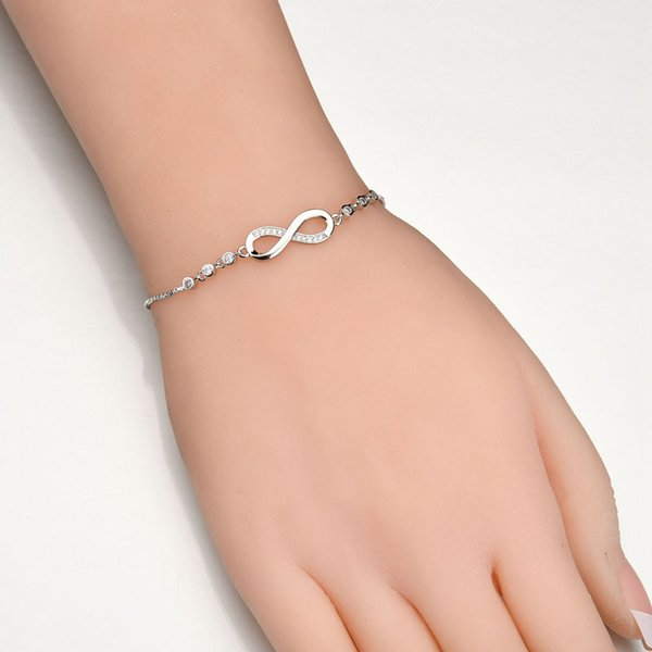 New Fashion Party Jewelry Adjustable Bracelet For Women Creative Girls Bracelets 925 Sterling Silver Plated Pandora Style