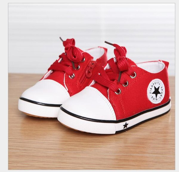 New Spring Canvas Children Shoes Baby Breathable Sport Shoe/Boys And Girls Not Smelly Feet Soft Chaussure/Kids Sneakers