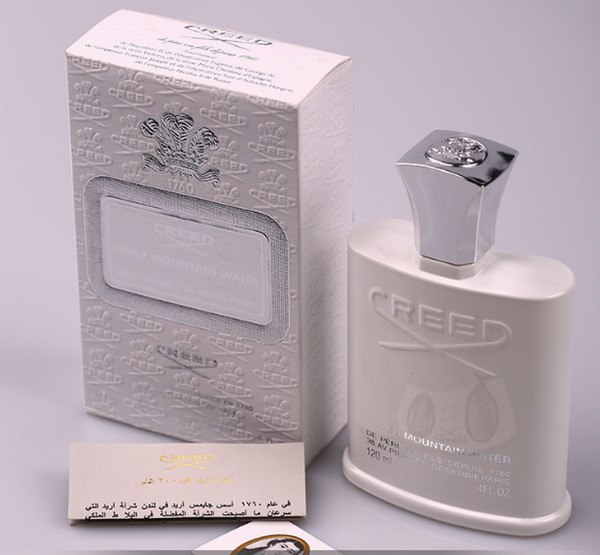 Creed ilver mountain water perfume for men with long la ting high fragrance good quality 120ml