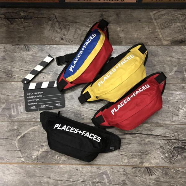 Места + лица спортивные пакеты Waistpacks P + F жизнь скейтборды сумка симпатичные повседневная мужская открытый пакеты мини мобильный телефон пакеты сумка для хранения
