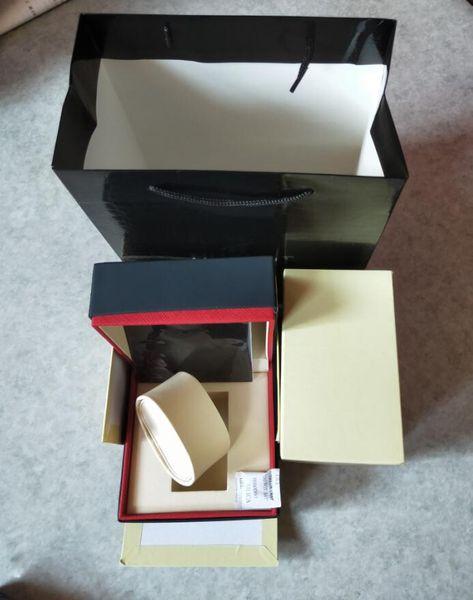 Роскошный черный часы Box швейцарские часы Box с документами и сумочка часы Box для Hub