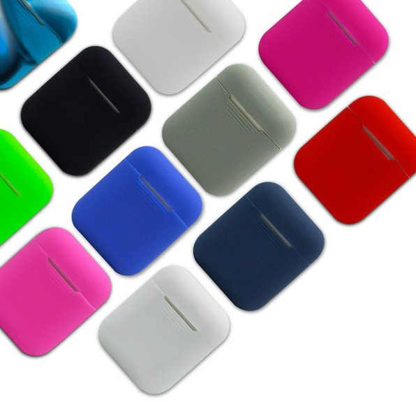 Silicone  hock proof protective carrying ca e cover  kin  leeve pouch box for apple airpod  air pod  wirele   earphone headphone