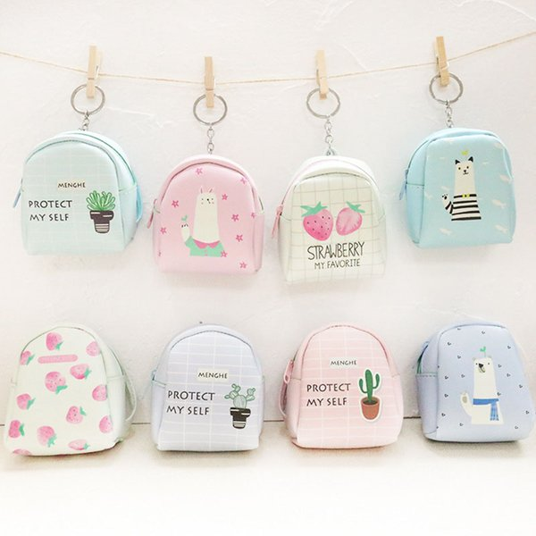 40pcs / lot women mini purse printing coin purse zero wallet girl cute coin wallet wholesale random colors (430980666) photo