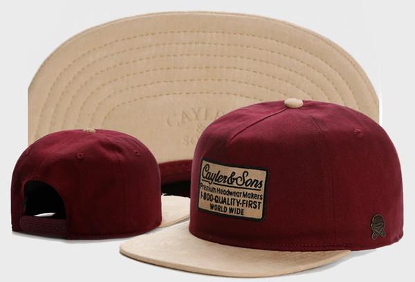Новейшие Оптовые Cayler Sons Snapback Caps для мужчин и женщин бейсбольные кепки Спортивные фото