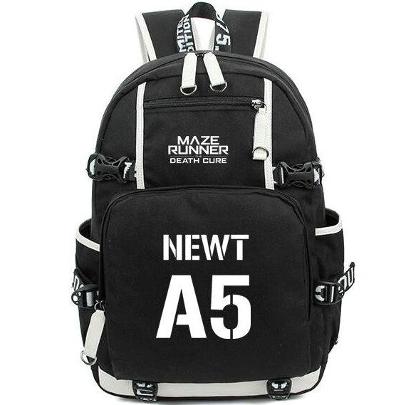 Newt backpack the maze runner chool bag a5 daypack lap choolbag outdoor ruck ack port day pack