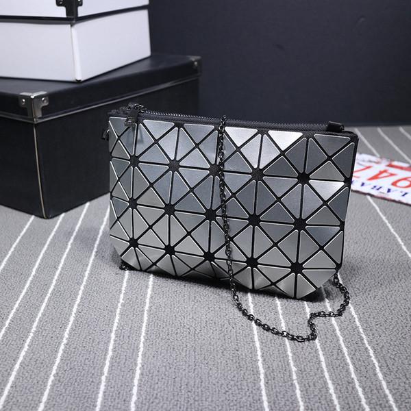 the unique design geometric purse pu leather chain crossbody purse clutch purses for women (414285542) photo