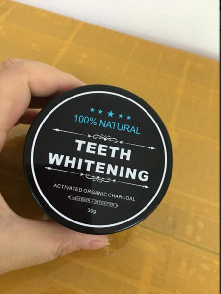 Food grade teeth powder bamboo dentifrice oral care hygiene cleaning natural activated organic charcoal coconut hell tooth yellow tain