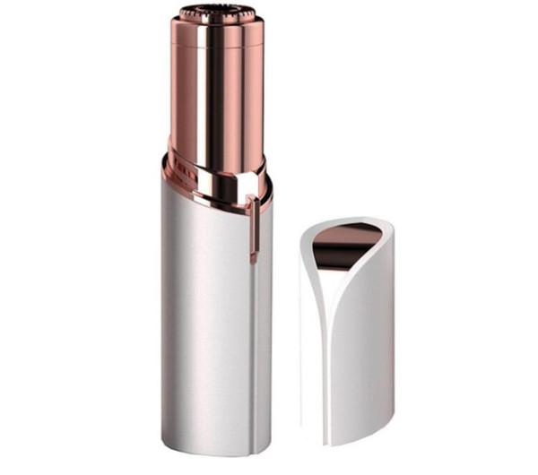 Drop ship painless Electric Women Lipstick Shaver Razor Wax Hair Remover Trimmer Shaving Machine Lipstick Shaving Tools freeshipping