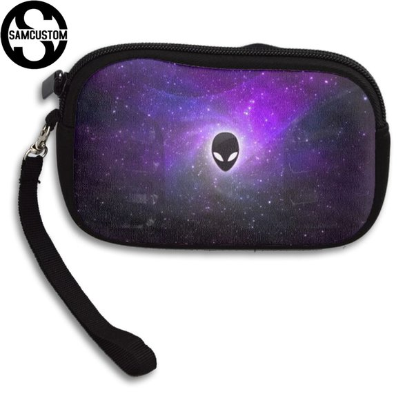 samcustom alien 3d print new women's small purse male and female small wallet fashion casual girl coin purse (418481265) photo