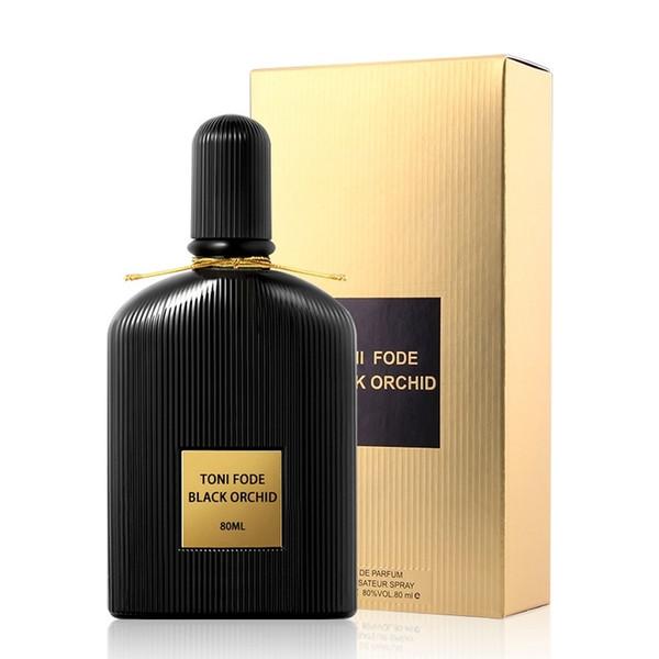 Lady perfume lure wooden flower fragrance black velvet romantic female natural charm 80ml