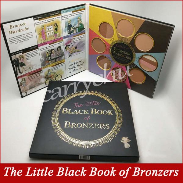 New faced makeup 8 color the little black book of bronzer blu h cheek face powder palette highlighter contour palette