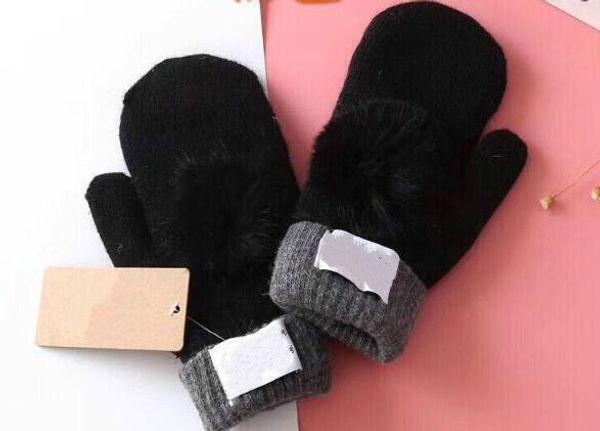 2018 Новый высокое качество женщина Glovess Европейский модельер теплая перчатка диск фото
