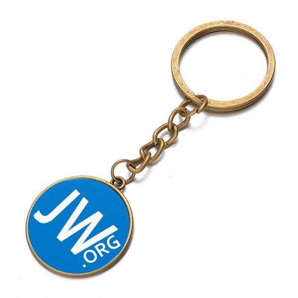 Trendy ilvery alloy children man jw org keychain jehovah witne keychain jw org jehovah witne e key chain ring pendant 2018 y123