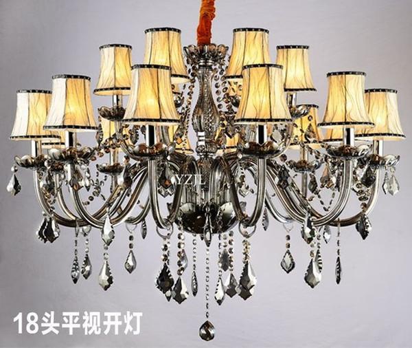 Курил Кристалл Освещение люстра спальня столовая гостиная современный простой люстра хрустальная люстра освещение фото