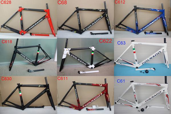 Горячая 2018 Colnago C60 углерода дорожный велосипед рама полный углерода велосипед рам