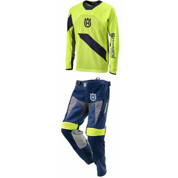 Оптовая продажа для Husqvarna Хаски стиль мотокросс костюм гонки Джерси брюки Motobiker с
