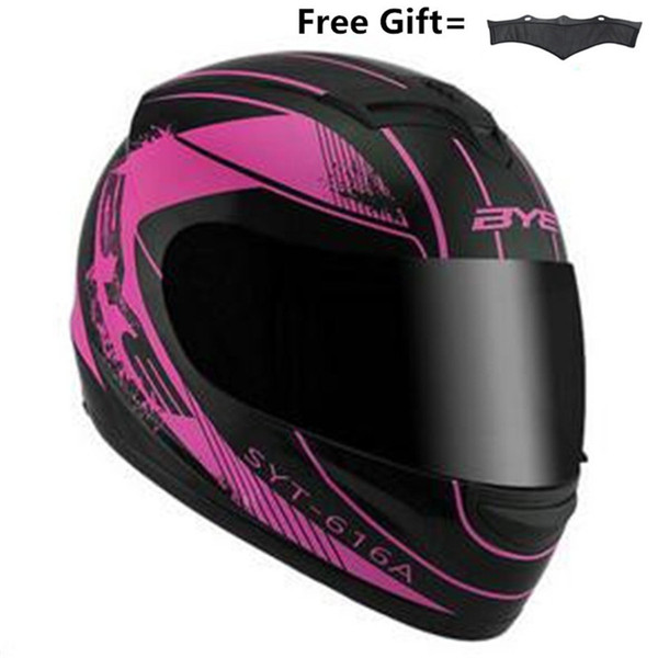 Мотоциклетный шлем Мужчины Полный шлем для лица Moto Riding ABS Материал Мотокросс Мото фото