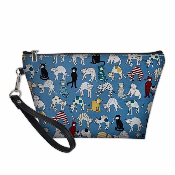 makeup bag dog pattern pencil box student girl boy school supplies stationery zipper gadgets case multifunctional purse bag (427064185) photo