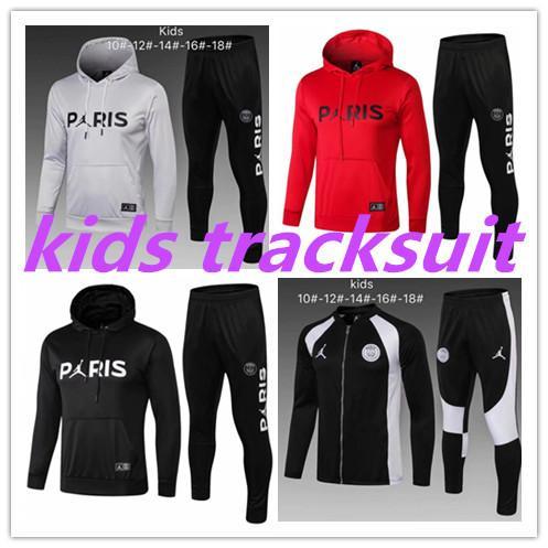 Kid track uit 2018 2019 jordam x p g hoodie champion league urvetement 18 19 training uit p g mbappe football jacket pogba track uit