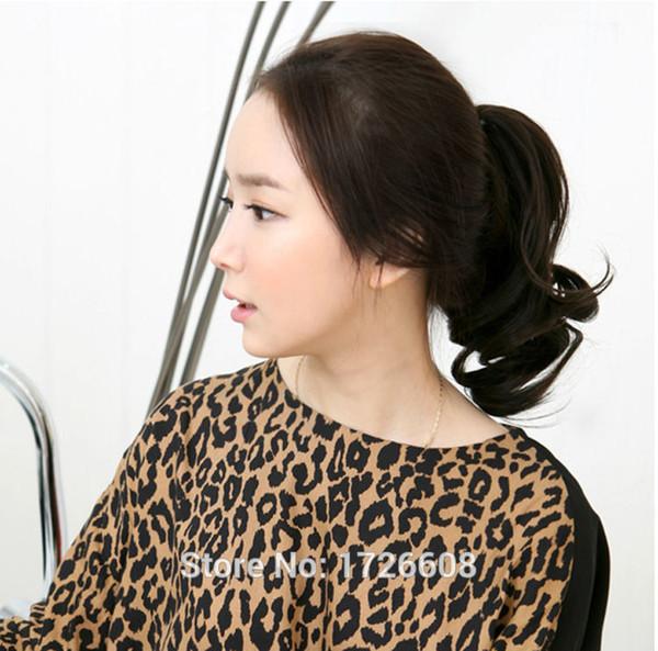 Коготь клип на хвост поддельные наращивание волос накладные волосы пони хвосты л