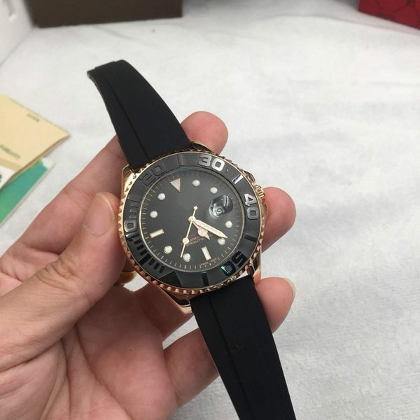 AAA Top Luxury Brand watch Master design Ceramic bezel waterproof Automatic date Men's sports watches Fashion casual mens watches 16233 (lijingpao666) Lowell Buy Ad