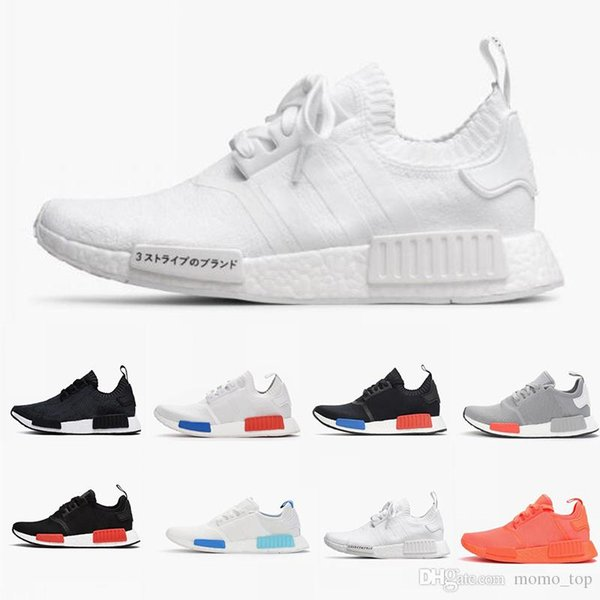 2019 whole ale r1 hoe di count japan white red runner r1 primeknit pk low men 039 women 039 hoe cla ic fa hion port bra