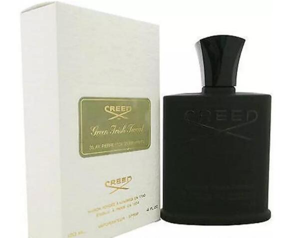 Новый зеленый ирландский твид для мужчин одеколон 120 мл спрей духи с длительным временем хорошее качество запаха высокий аромат capactity черный creedFree