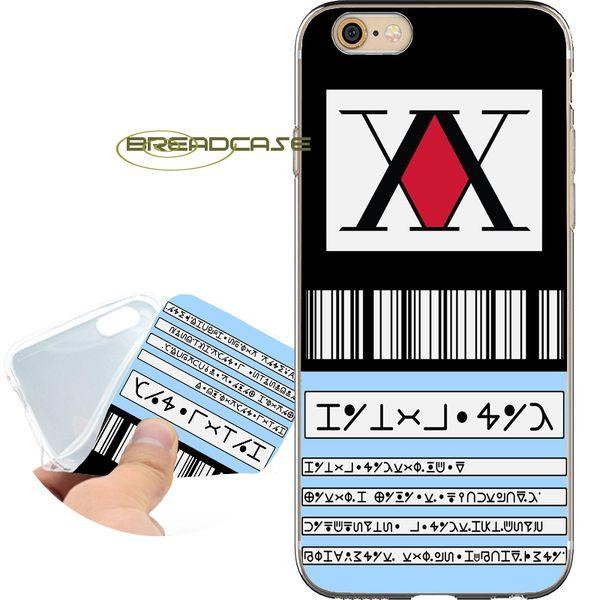 Случаи лицензии охотника Coque для iPhone 10 X 7 8 6S 6 Plus 5S 5 SE 5C 4s 4 iPod Touch 6 5 Ясная мягкая крыш