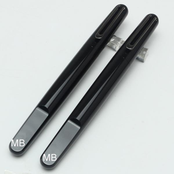 Newson Limited edition черная смола магнитная крышка роллер ручка резьба школа офис бизнес мода бренд, запонки вариант
