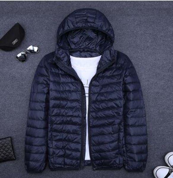 VXO новый бренд мужчины пуховик ультра легкий пуховик мужчины ветровка перо куртка человек зима большой размер пальто