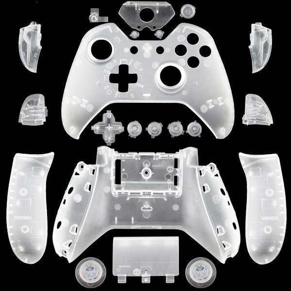 Xbox One геймпад DIY пользовательские матовый белый замена корпуса оболочки с кнопками для беспроводных контроллеров игровой геймпад