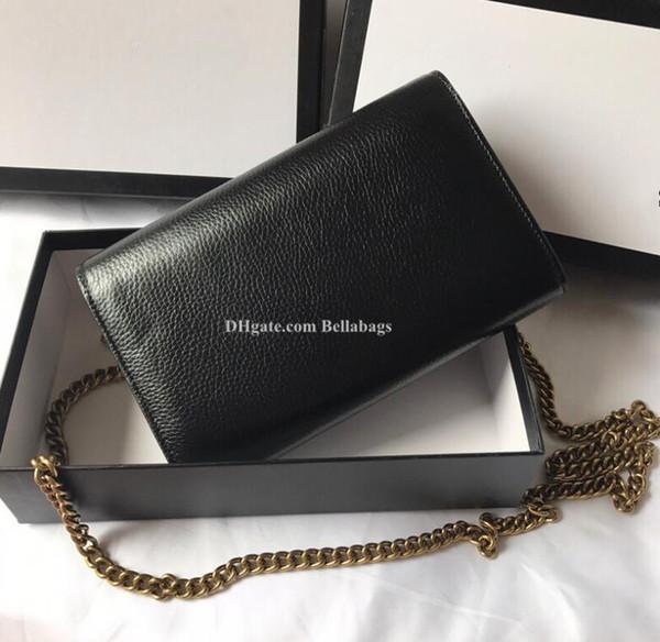 233 women messenger bag promotion discount genuine leather original box shoulder bag purse clutch card holder brand designer famous (423212187) photo