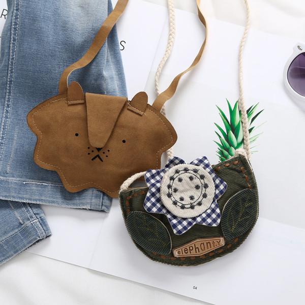 raged sheep cute girl kids coin purses holder loin flower mini cute storage single shoulder bag coin purse monederos para mujer (425642349) photo