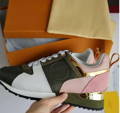 2019 Марка Кожа Женщины Дизайнерские кроссовки Мужские кроссовки Мода досуг Обувь