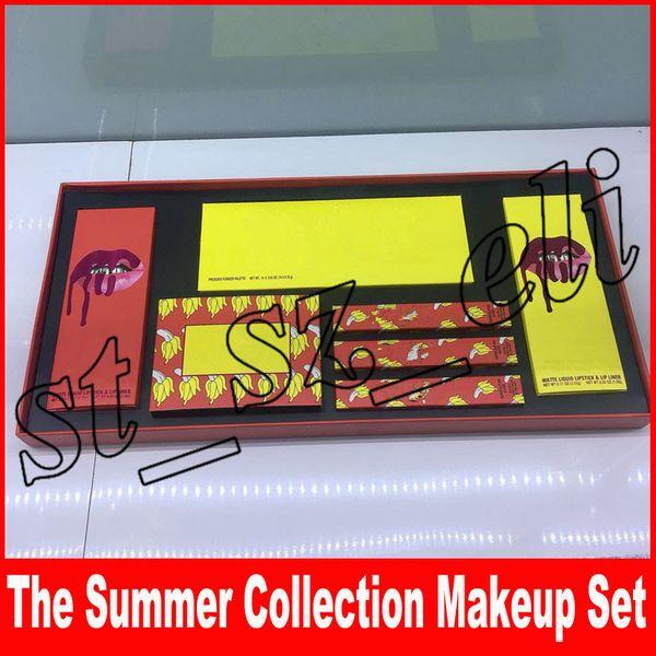 New makeup et limited edition ummer collection bundle co mteic 2018 lip glo liquid lip tick lipliner 14 color eye hadow