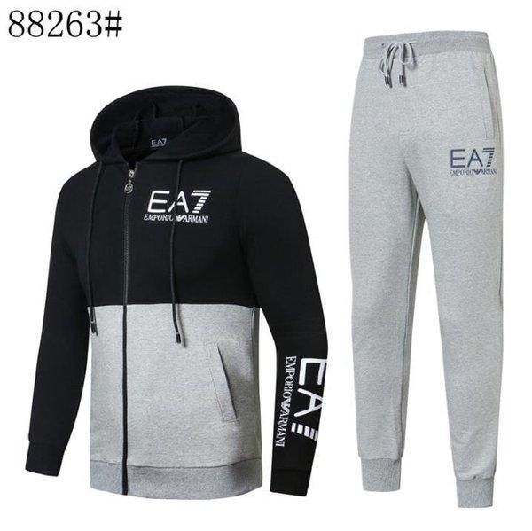 AMN новый мужской спорт на открытом воздухе из чистого хлопка высокого качества высшего класса ткани спортивной одежды размеры M-XXXL