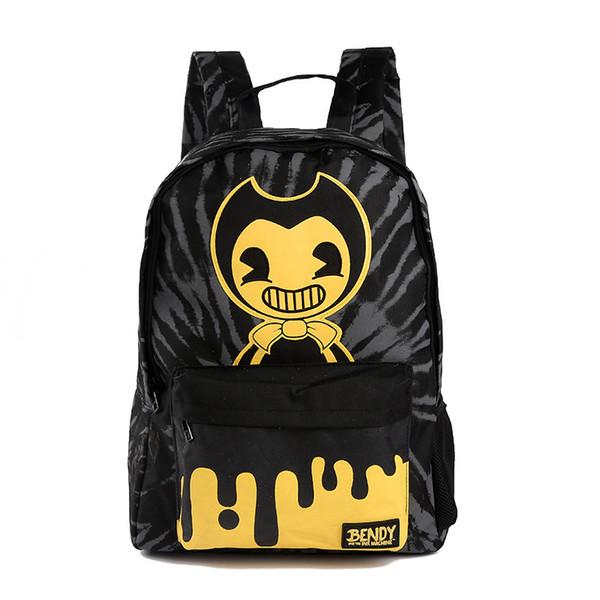 DIOMO школьные рюкзаки мальчики девочки дети мода Бенди и чернила машина книга сумка подростков путешествия рюкзак
