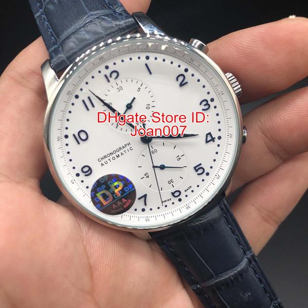 DP Factory Make Luxury Watch Blue Face Стабильное автоматическое движение Без хронографа Синий ко фото