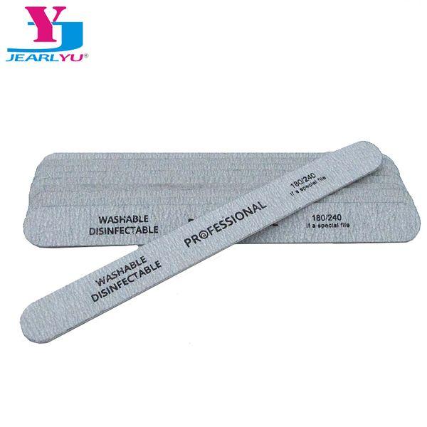 Пилочка для ногтей 50 шт. / лот серый шлифовальные пилочки для ногтей 180/240 грит проф фото