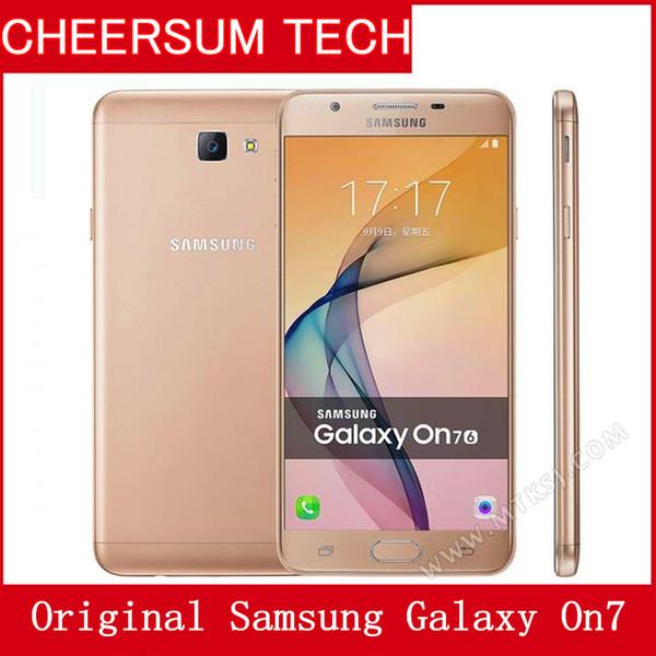 Original  am ung galaxy on7 g6000 mobile phone 5 5  039   039 13mp quad core 1280x720 dual  im 4g lte unlocked refurbi hed mobile phone 5pc