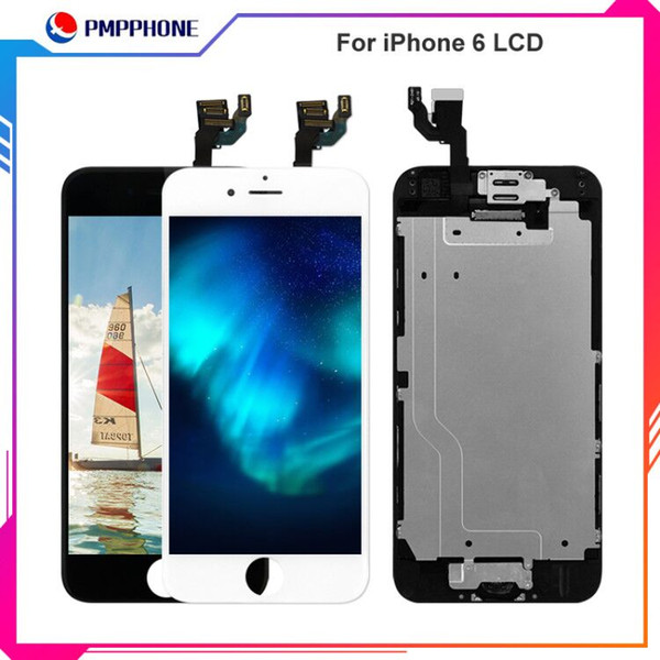 Best Tianma Quality For iPhone 6 LCD Display 4.7 inch Complete Full Assembly 3D Touch Screen Digitizer and Frame Replacements Free Shipping