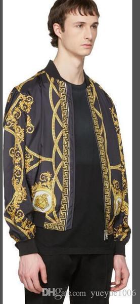 Марка осень зима мужские куртки мода пальто мужской повседневная печать мужчины с капюшоном куртка мужская дизайнерская одежда