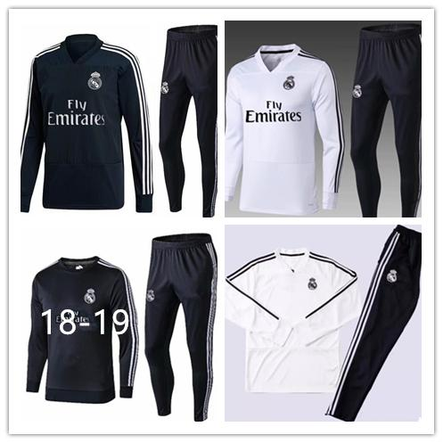 2018 19 real madrid occer track uit jacket uit man city track uit jogging football top coat pant adult training track uit expre