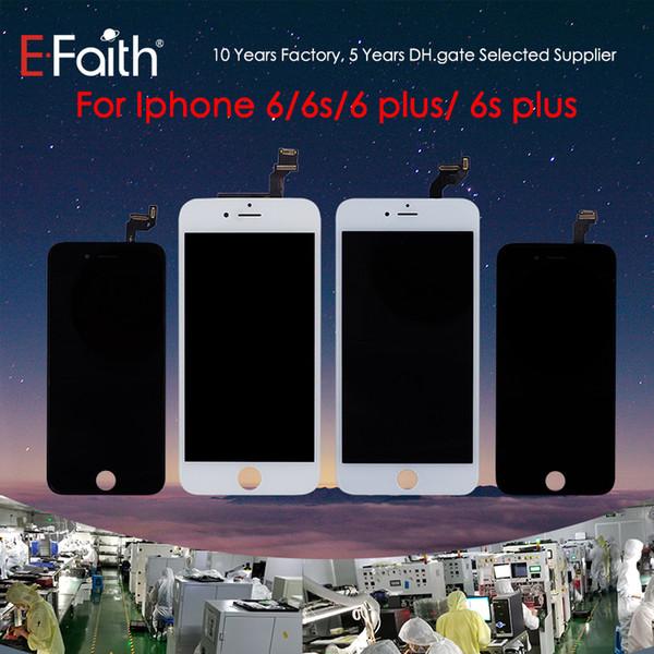 ЖК-дисплей сенсорный дигитайзер рамка Ассамблеи ремонт для iPhone 6 6 плюс 6 S 6 плюс бе