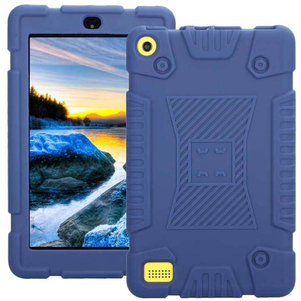 For kindle fire 7 tablet pc ca e hockproof anti kid oft ilicone tpu protective ca e kindle hd 8 cover