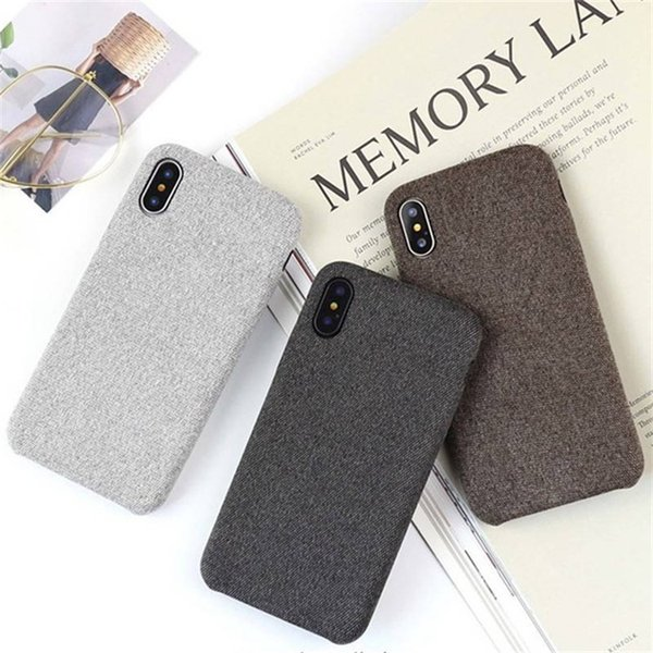 New arrival de ign fa hion flax flannel pattern  oft phone ca e for iphone x 8 7 6 plu